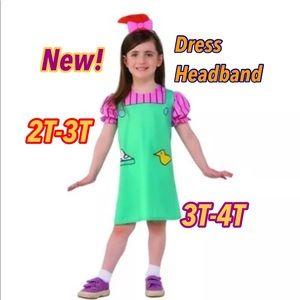 Lil Deville Rugrats Child Costume New!